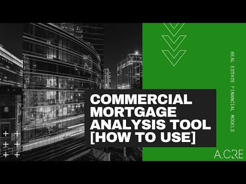 Commercial Mortgage Loan Analysis Model - Adventures in CRE