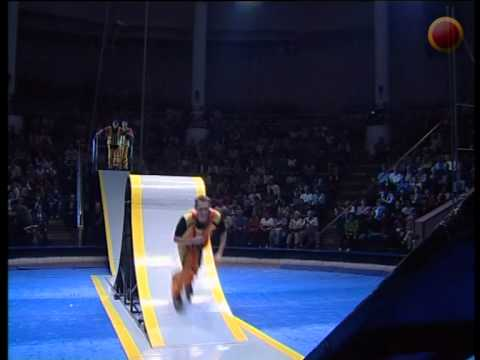 Acrobats on skates