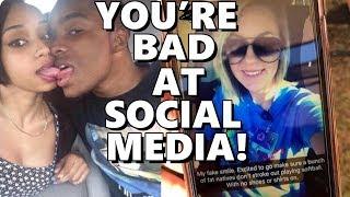You're Bad at Social Media! #91