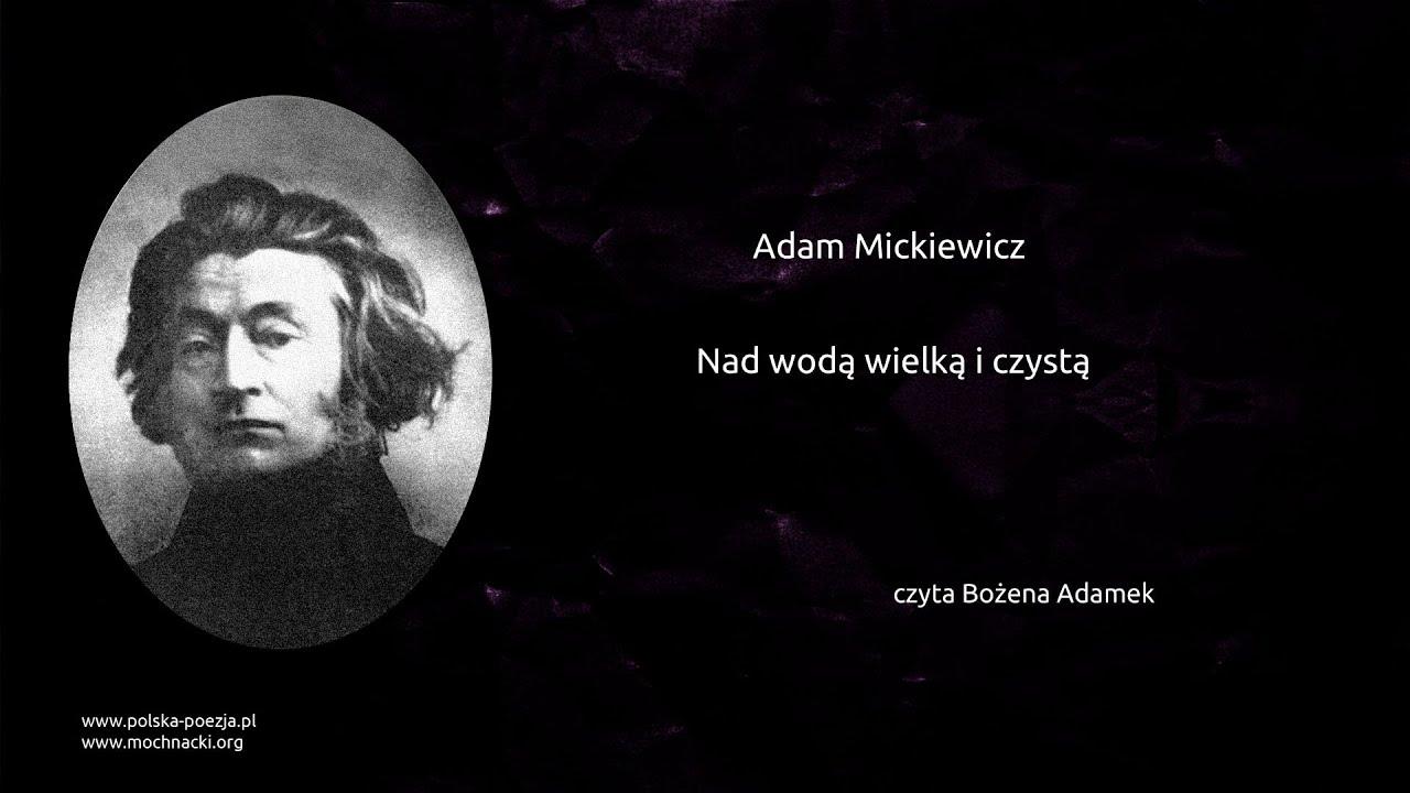 Adam Mickiewicz życie I Twórczość Artysta Culturepl