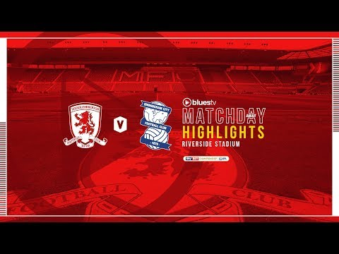 HIGHLIGHTS | Middlesbrough v Blues