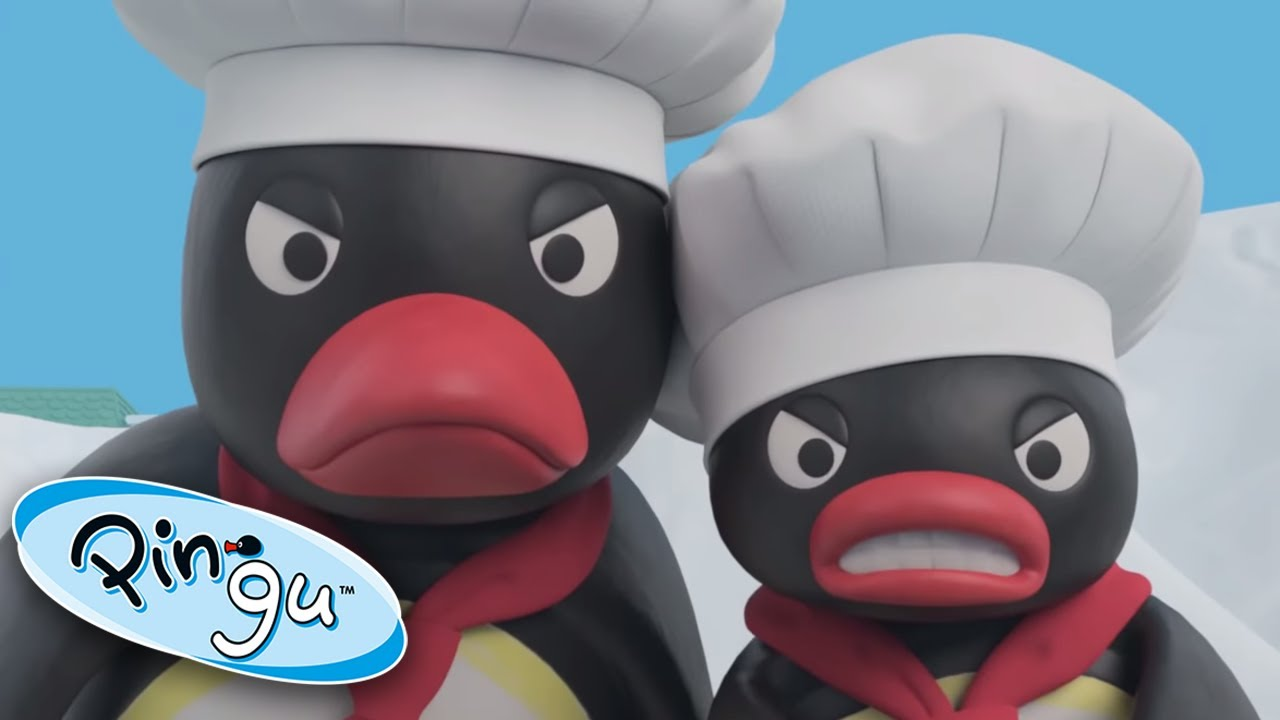 Pingu The Angry Chef!  @Pingu - Official Channel    | Pingu in the City | Cartoons for Kids