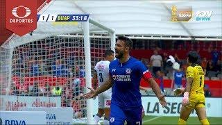 Gol de Cauteruccio | Cruz Azul 1 - 1 Lobos BUAP | Apertura 2018 - Jornada 16 | Televisa Deportes