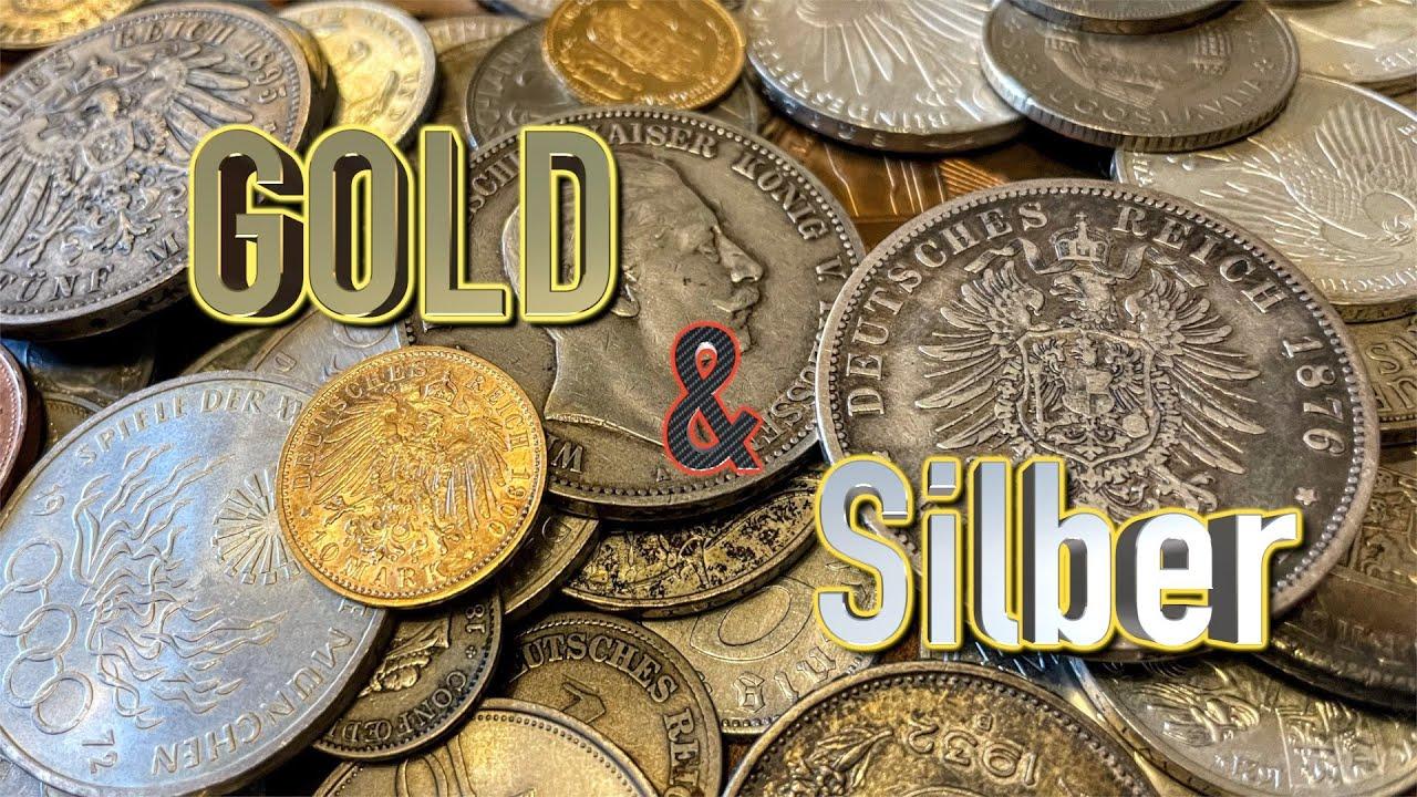 Download Wertvolle Gold & Silber Münzen Sammlung (der Traum aller Schatzsucher) - Numismatik, Gebrüder Lange