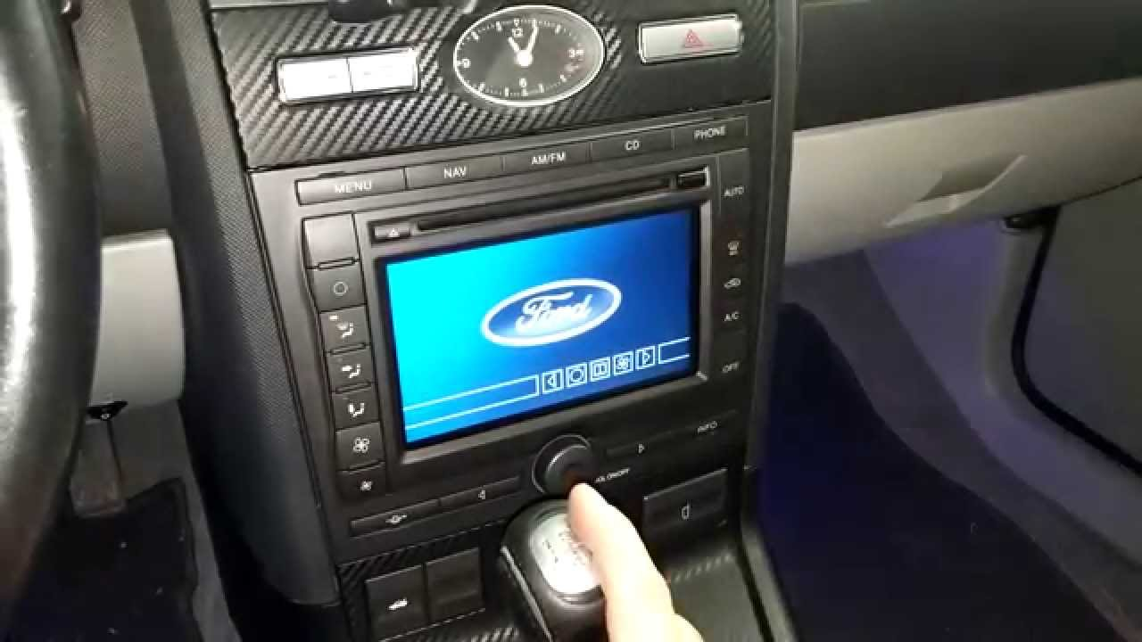 Ford Denso Reverse Camera Youtube