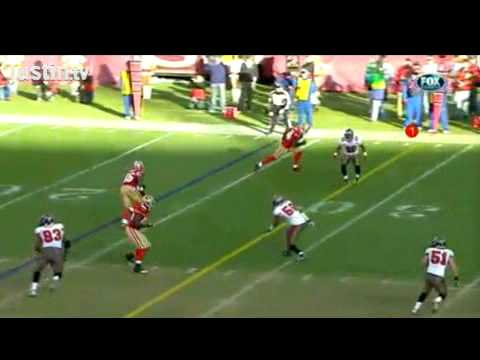 Ronde Barber gets his 40th interception against the 49ers Troy Smith