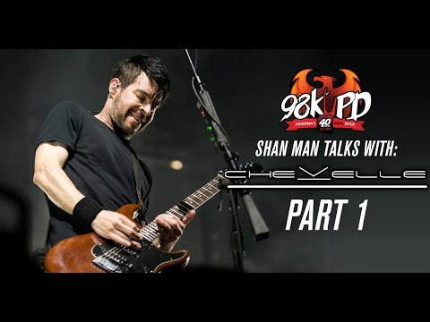 Shan Man Talks Classic Rock With Pete & Sam From Chevelle