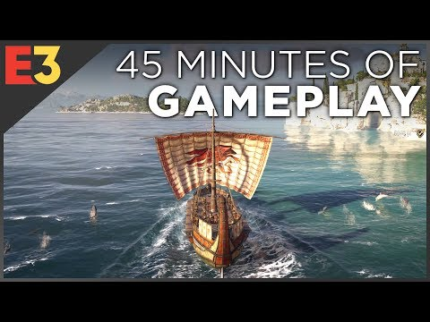 Assassins Creed Odyssey 4K GAMEPLAY! Naval Combat, Dialogue Choices & Multiple Characters!