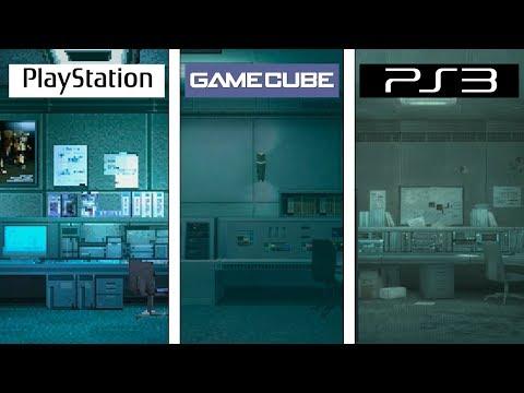 Metal Gear Solid | Shadow Moses Evolution | PSX Vs GC Vs PS3