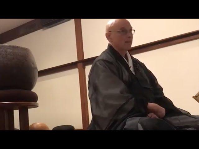 Holy Days Sesshin Closing Remarks by Hokuto Sensei, 4.12.2021