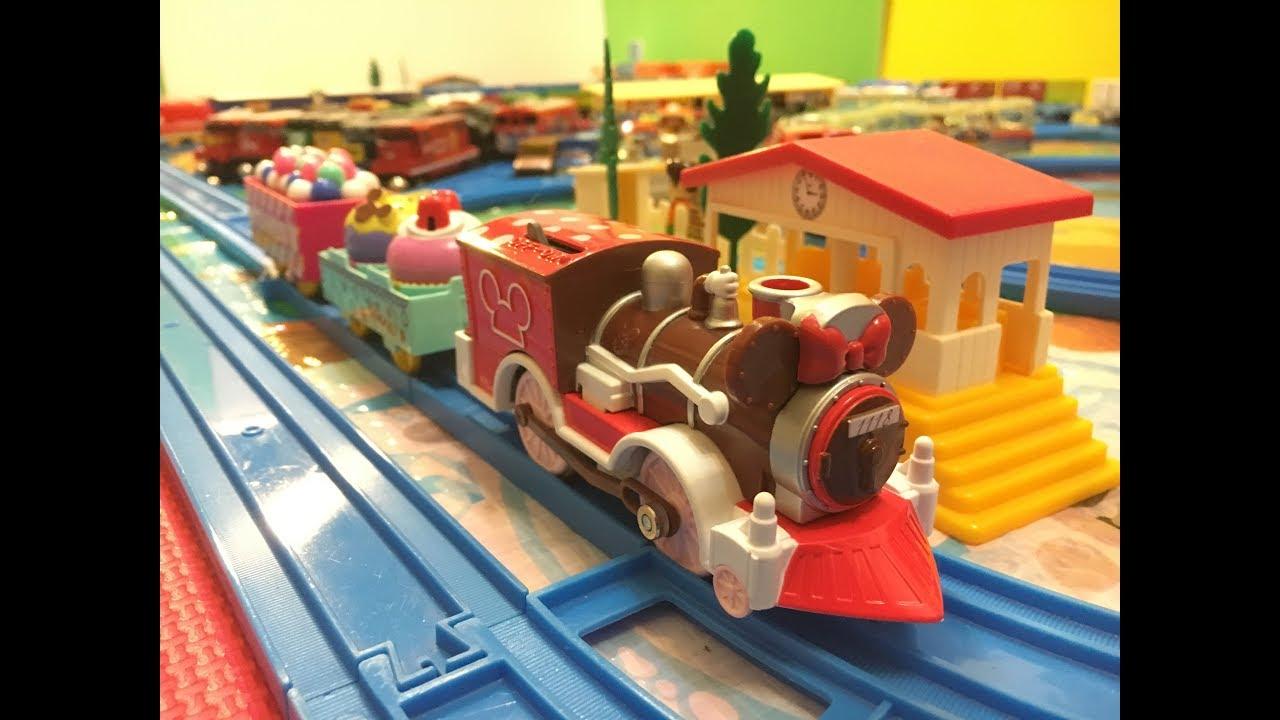 Plarail Disney Dream Railway Minnie Mouse sweets Locomotive