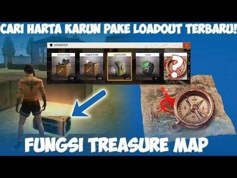 Cari Harta Karun Tersembunyi! Fungsi Item Treasure Map Garena Free Fire