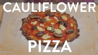 The Best Cauliflower Pizza Crust Ever: Healthy Dinner Recipe (gluten Free)
