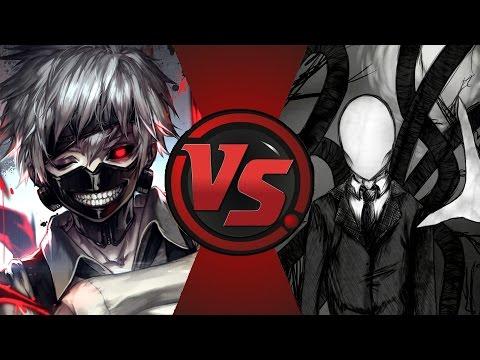 slenderman vs kaneki ken youtube