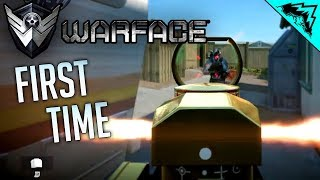 FIRST TIME - Warface (PS4 Gameplay)