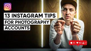 13 Instagram tips for photographers