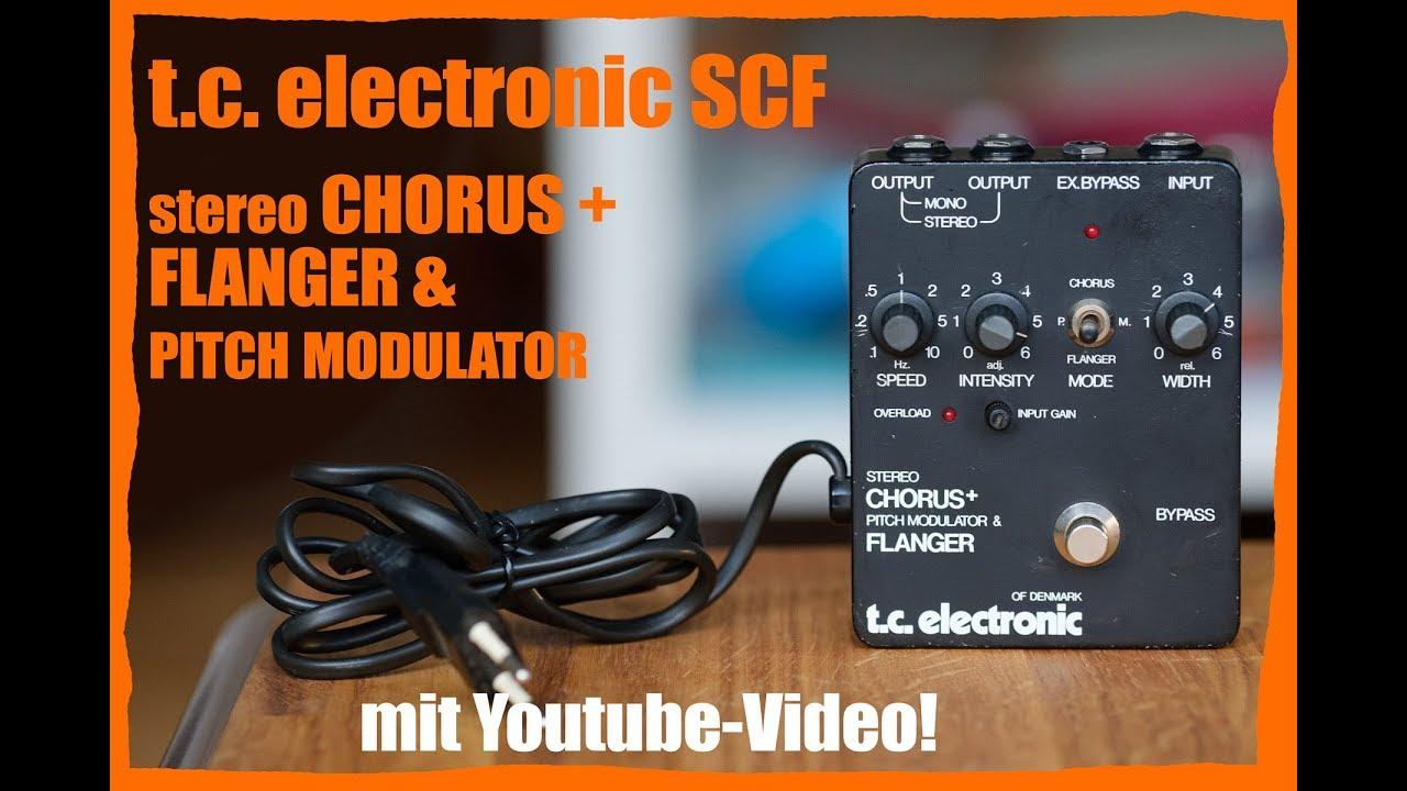 tc electronic scf stereo chorus modulator guit demo youtube. Black Bedroom Furniture Sets. Home Design Ideas