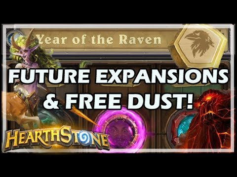 [Hearthstone] FUTURE EXPANSIONS & FREE DUST!