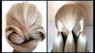 Простой вариант Красивой прически.Подробное видео.Simple option Beautiful hairstyles.Detailed video.