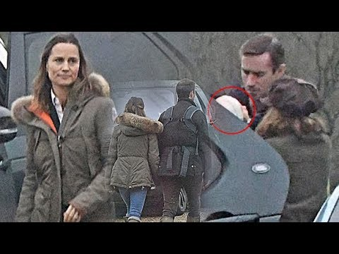 Pippa Middleton shows first look at her boy as she, James & her family enjoy a outing to a Berkshire