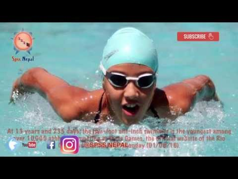 Gaurika singh (Nepal )lai Safalta ko subhakamana Youngest at RIo 2016