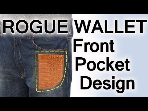 Rogue Wallet Review | Wallets That Fit In The Front Pocket | Billfold Made In Maine USA
