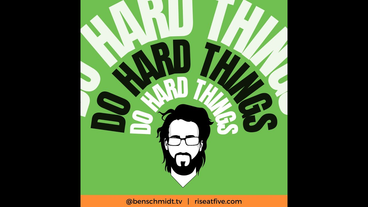 I DO HARD THINGS!!... ya I heard it