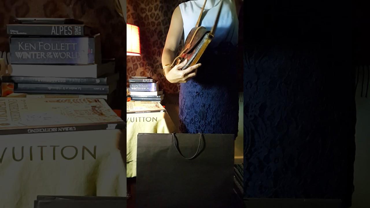 1e4548d31 4 Crossbody LOUIS VUITTON bags Modelling: Saint Cloud GM, Jeune Fille GM,  Blois et Chantilly MM