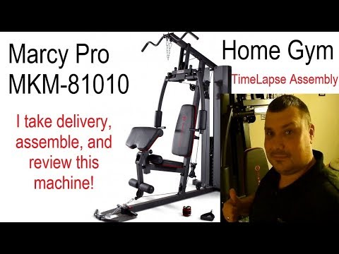 Marcy MKM 81010 Home Gym Review / Assembly