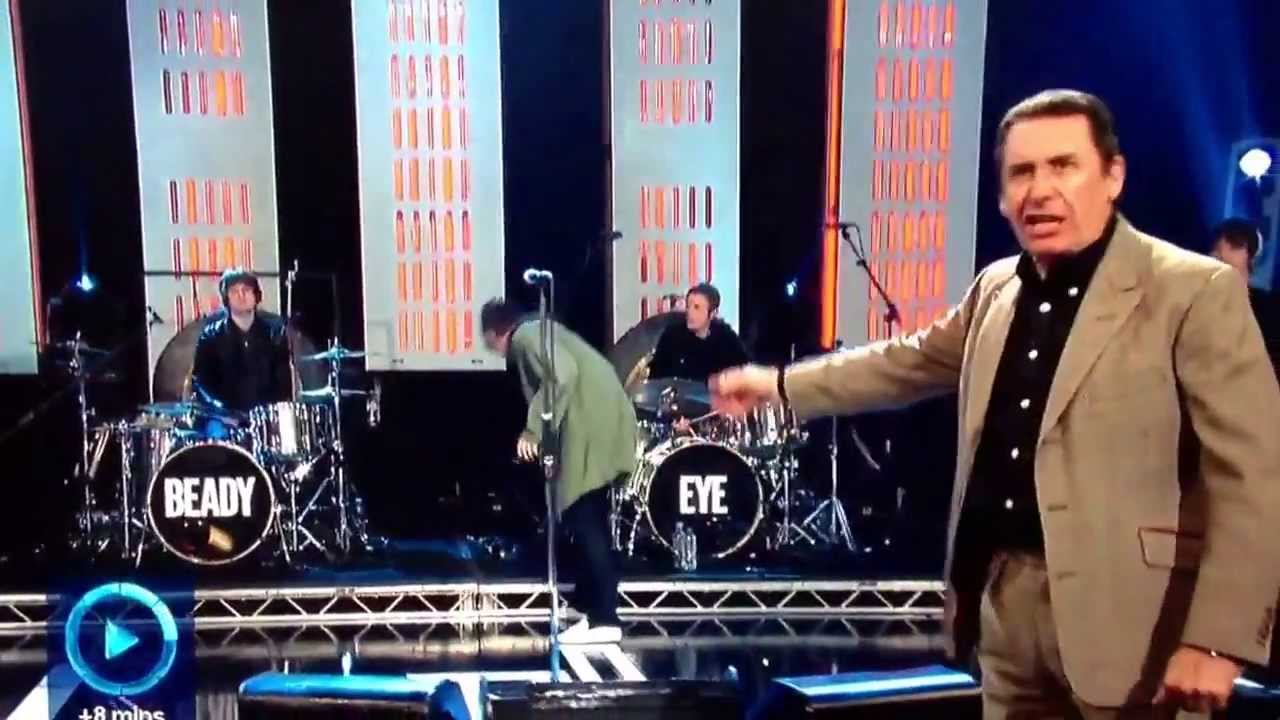 Noel Gallagher Jazzmaster.Jools Holland Calling Liam Gallagher Noel On Tv
