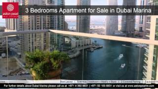 3 Bedrooms Apartment for Sale in Dubai Marina, Marinascape Oceanic