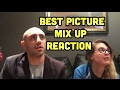 Oscars Best Picture Mix up Reaction