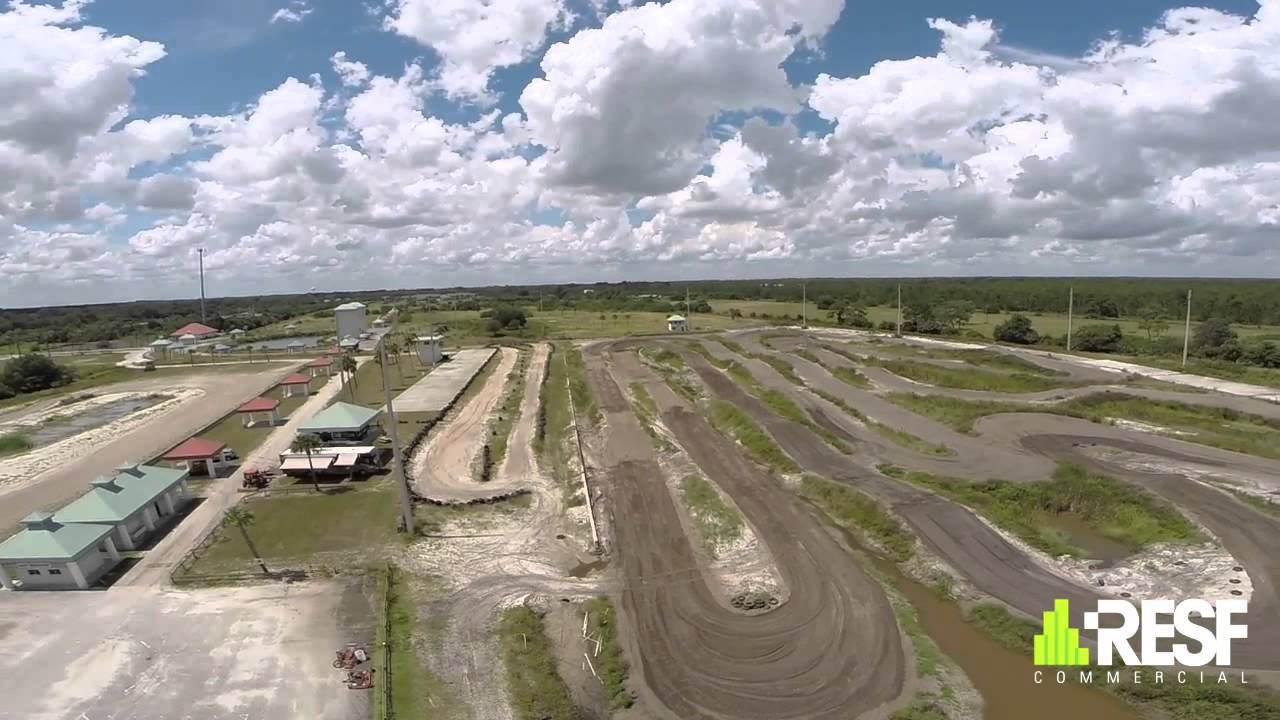 drone view  race track for sale