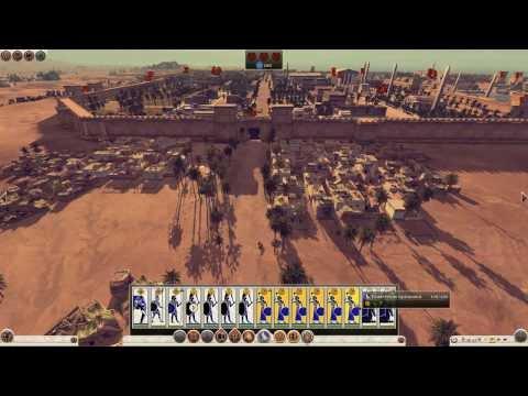 Total War: Rome II (Египет, легендарная сложность) #8 - Возвращаем Александрию