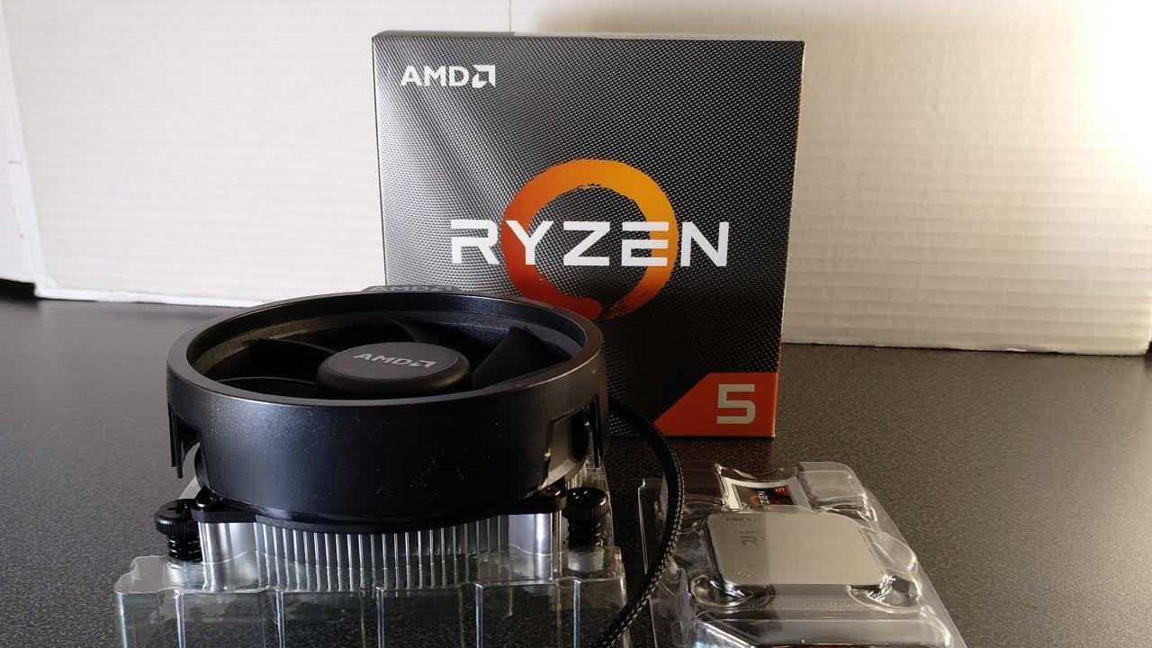 Amd Ryzen 5 3600 Box Desktop Processor Unboxing Review And Demo Youtube