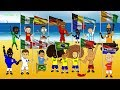 🇧🇷WORLD CUP 2014 OPENING CEREMONY🇧🇷 by 442oons (World Cup Song Cartoon)