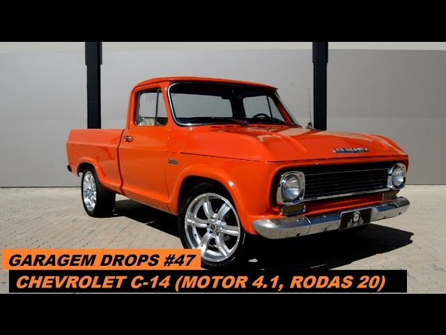 Garagem Drops 48 Chevrolet C 14 Motor 4 1 Box 54 Youtube