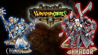 Warmachine & Hordes - Cygnar (Nemo3) vs. Khador (E-Zerkova) - 50pt Battle Report