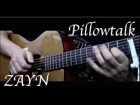Zayn Pillowtalk Fingerstyle Guitar Youtube