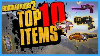 TOP 10 Best Items in Borderlands 2