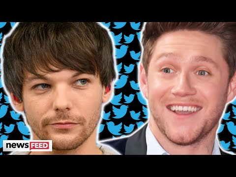 Louis Tomlinson DRAGS Niall Horan On Twitter!