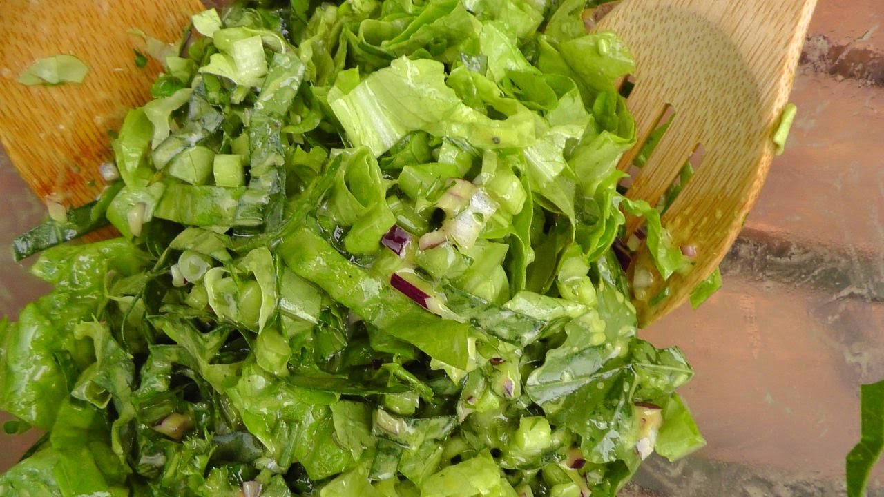 Rezept gruner salat fur party