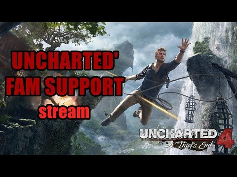 Wifeys & CHARITY STREAM (Uncharted 4 Multiplayer)