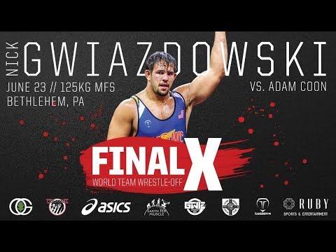 Final X Preview: Nick Gwiazdowski