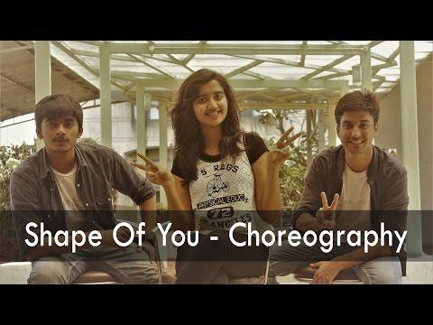 Shape of You | Dance Choreography | IIT Bombay | ft. Anusha Nitin Sahil | Ed Sheeran | Vanity Remix