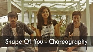 Shape of You | Dance Choreography | IIT Bombay | ft. Anusha Nitin Sahil | Ed Sheeran | Vanity Remix