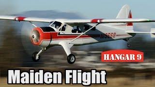Hangar 9 Beaver with Electric Start EME 35 - Maiden Flight
