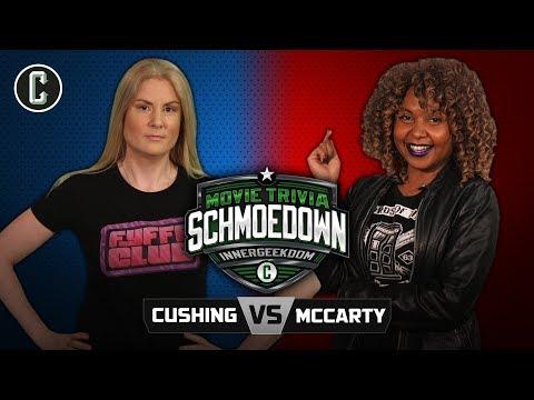 Innergeekdom Tournament:  Cushing VS McCarty - Movie Trivia Schmoedown