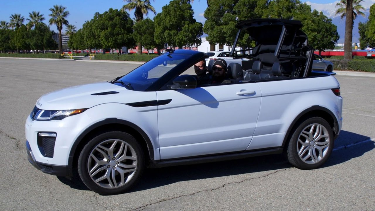 is the land rover range rover evoque convertible a real suv w jonny lieberman daily fix. Black Bedroom Furniture Sets. Home Design Ideas
