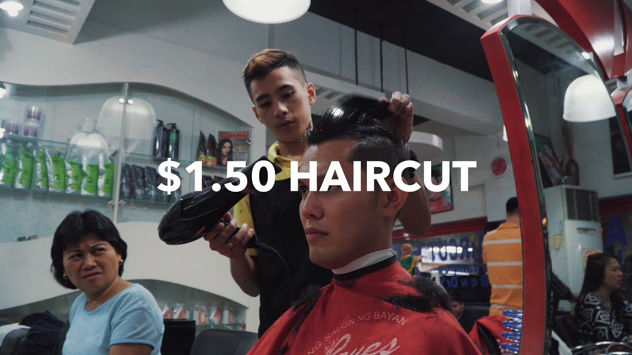 150 Haircut In The Philippines Youtube